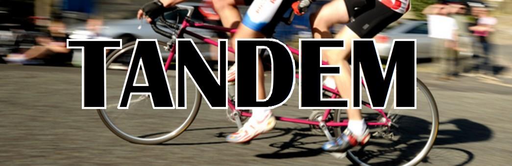 Tandem, tricycle, handbike